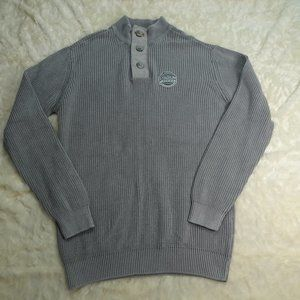 NHL Pittsburgh Penguins Gray Pullover Size Large